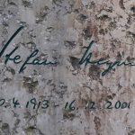Grabstein Stefan Heym - Detail